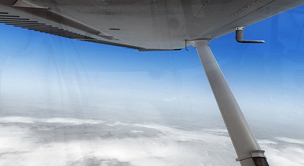 Realistic view outside the cockpit with REX weather engine and textures in FSX
