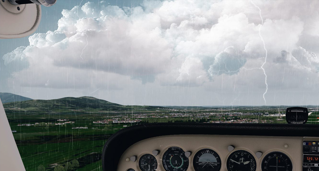 Thunderstorm content for FSX and Prepar3D