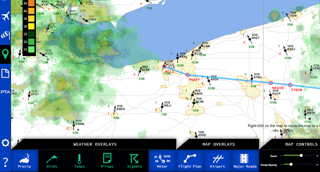 Plan your flights in FSX and P3D